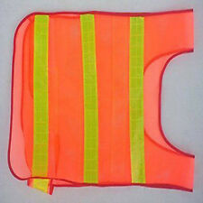 US   Safety Security Reflector Vest Gear Day/night Mesh Biking Running Jogging