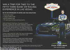 2013 RICKY STENHOUSE JR 5/3 BANK TRIP TO VEGAS BB #17 NASCAR SPRINT CUP POSTCARD