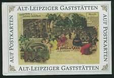Leipziger Gaststätten Ansichtskarten Sachsen Leipzig Heimatbuch Ansichtskarte AK