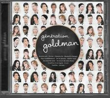 CD ALBUM 13 TITRES--GENERATION GOLDMAN--POKORA/SHYM/MOIRE/WILLEM/BENT/ZAHO...