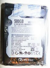 Western Digital Black 2.5' 500GB 7200K 16MB 6Gb/s WD5000BPKT WD Laptop Drive