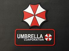 PVC Resident Evil Umbrella Corporation 2 Patch Set VELCRO® Brand Hook Backing