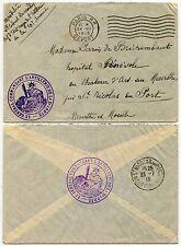 FRANCE 1915 WW1 to MILITARY HOSPITAL ST NICOLAS de PORT..X ARMY ARTILLERY SUPERB