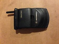Motorola Startac Black Cellular Vintage Phone