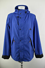 Haglöfs Haglofs Pertex Fabric Men`s Protected Blue Hooded Jacket Size XL