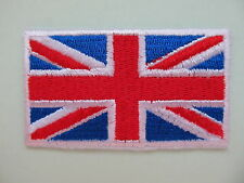 Great Britain Flag Iron on Applique Patch