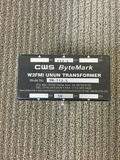 End Fed Antenna, Sloper, Inverted L Antenna 50:112.5 ohm UNUN Transformer. W2FMI