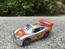 Disney Pixar Cars Metallic Lightning McQueen Metall Spielzeugauto Neu Loose