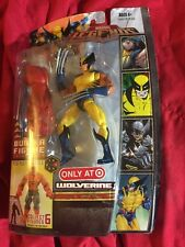 New WOLVERINE Yellow Suit TARGET EXCLUSIVE Costume Marvel Legends Red Hulk BAF