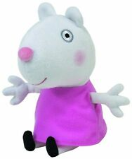 "Peppa Pig Suzy Sheep TY Beanie Baby plush toys (Approximately 7"" tall)"