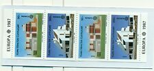 EUROPA CEPT - NORTHERN CYPRUS 1987 Architecture booklet