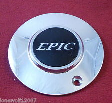 Epic Wheels Chrome Custom Wheel Center Cap 991-0620 (1)