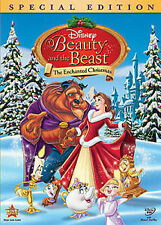 Disney beauty and the beast enchanted christmas dvd (HTF) region 4
