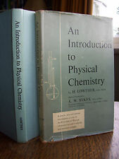 An Introduction to Physical Chemistry by H. Lowther (hb, 1961)