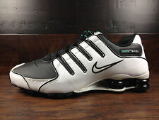 Nike Shox NZ (White/Black/Mint) Running [378341-103] Mens Sz 6 WOMEN 7.5