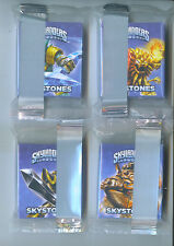 SET 4 SKYSTONES Card Game General Mills Cereal GM Skylanders Trap Team vault col