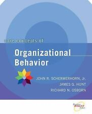Core Concepts of Organizational Behavior, Osborn, Richard N., Hunt, Schermerhorn