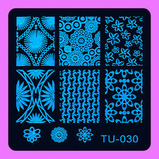 NEW Stamping Manicure Image Nail Art Image Stamp Template Tool Plate Polish T-30