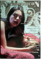 NECRONOMICON BOOK TWO the journal of horror and erotic cinema -Andy Black- NUOVO