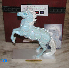 TRAIL OF PAINTED PONIES Krystal Knight 1E/2073 ~ Blue Mare ~ Crystals & Pearls ~