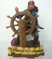Pirates of the Caribbean Jack Sparrow Statue Figurine Worlds End Disney 21616