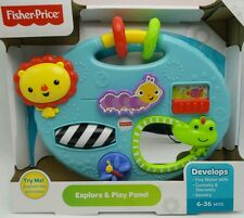 Fisher-Price Explore and Play Panel Childs Learning Fun Toy New