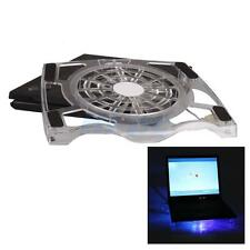 "USB One Big Fan Blue LED Cooling Cooler Pad Stand for 15"" Inch Laptop PC"