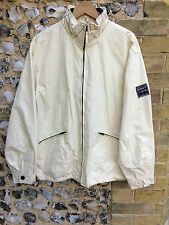 Vintage gant usa deck jacket taille l crème manteau l harrington bomber top mac sail