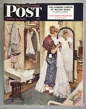 Saturday Evening Post - March 9, 1949 ~~ Norman Rockwell cover art