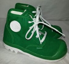 Toddler Boys Palladium Green Shoes Boots Size 9.5