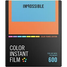 Impossible PRD4522 Color Glossy Instant Film with Color Frame for Polaroid 600