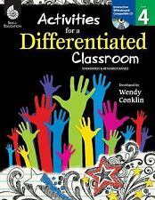 NEW - Activities for a Differentiated Classroom - Grade 4