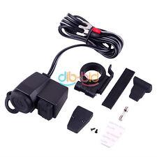 Motorcycle 12V USB Waterproof Cigarette Lighter Power Port Outlet Socket Gadgets