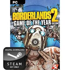 BORDERLANDS 2 GOTY GAME OF THE YEAR EDITION PC AND MAC STEAM KEY