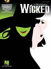 Broadway Singer Edition Wicked What is this Feeling Voice Piano Music Book & CD