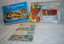 RARE VINTAGE HEROS GERMAN WOODEN TRAIN SET KLEINSTADT LITTLE TOWN NEW IN BOX