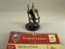 War of the Dragon Queen CLERIC OF LAOGZED +Card #43 43/60 DDM D&D Miniature Mini