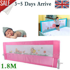 Kids Baby Cot Child Safety Bed Rail Guard Protection Folding Bedrail 2 Color Type3