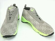 NIKE Mid Woven High-Tops 12 US 46 EU Beige Shoes Sneakers New Mens RARE