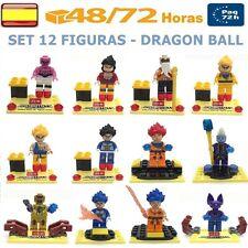 Dragon Ball Set 12 Figuras Compatible con Lego Bloques Bola de Dragon Goku