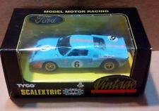 Ford GT Vintage EXIN Triang Scalextric SCX MSC OSC GOM Slot.it Cartrix Reprotec