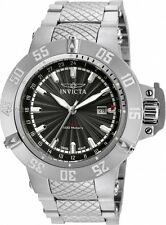 Invicta 50mm Subaqua Noma III Swiss Quartz GMT Stainless Steel Bracelet Watch
