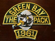 Legendarily   LOMBARDI COACHED TEAM Championship 1961 Patch,green Bay Packers