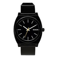 NIXON NEW Men's Time Teller P Watch Black Best Seller BNIB