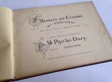 Manners And Customs Of Ye Englyshe - Rychard Doyle - Mr Pips Hys Diary - Old