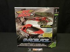 Air Hogs RC Gyroblade High performance Spin Master Heli Helicopter sealed red