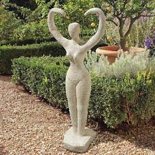 Neolithic Egyptian Style Mother Earth Goddess Ancient Pose of Worship Sculpture