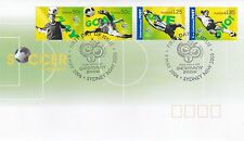 Australia 2006 FDC 9 May 06 Soccer in Australia SG 2642/5 set of four stamps