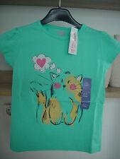 Kinder Mädchen T-Shirt Shirt Grün  4-5 Jahre Gr. 110  NEU