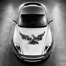 ANIMAL EAGLE BIRD WINGS DESIGN HOOD CAR VINYL STICKER DECALS ART MURALS SV1429